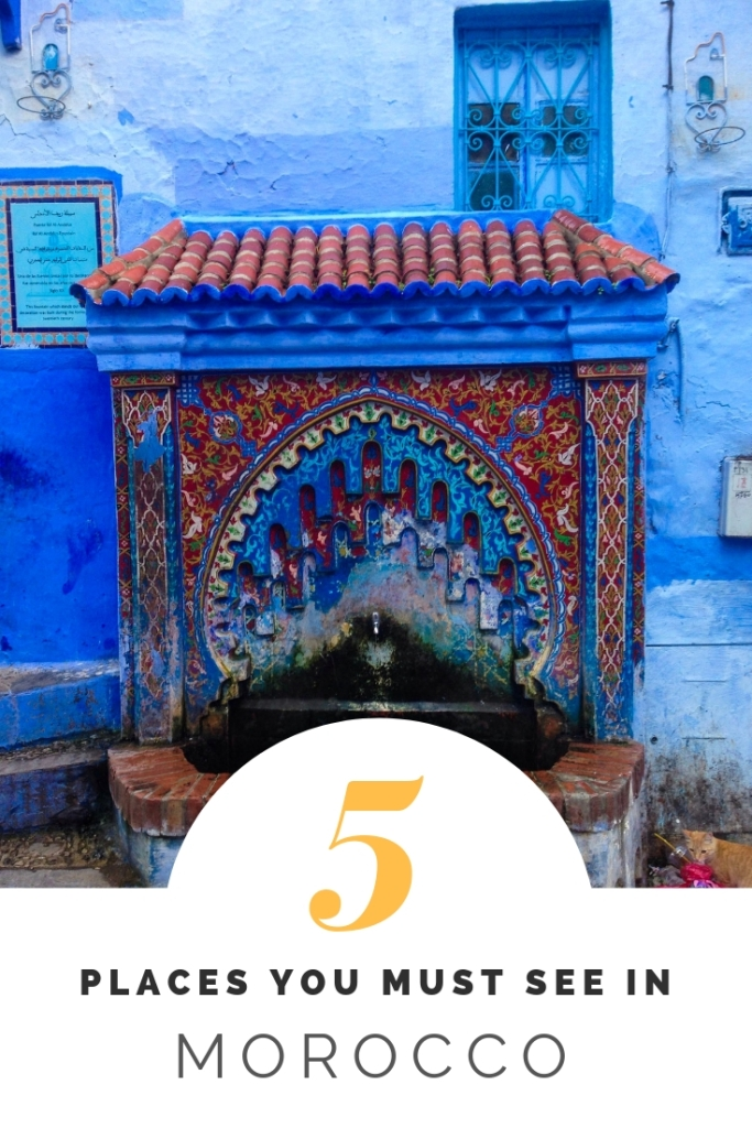 Morocco Chefchaouen places to visit travel tips travel advice Morocco beautiful places