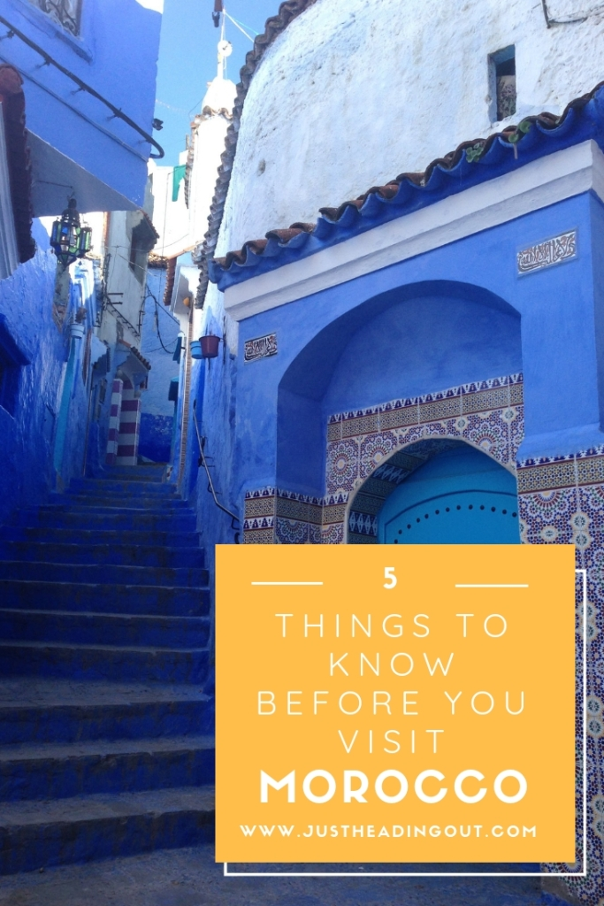 Morocco travel guide travel tips first time visit things to know Chefcahouen blue city