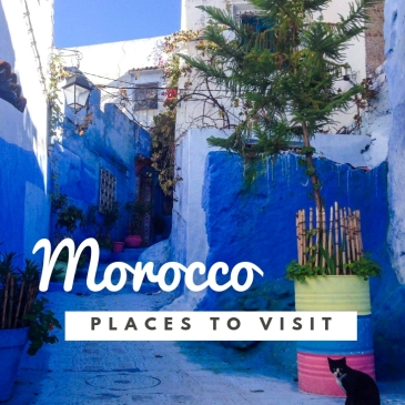 the most beautiful places to visit in Morocco Chefhcaouen blue pearl blue city