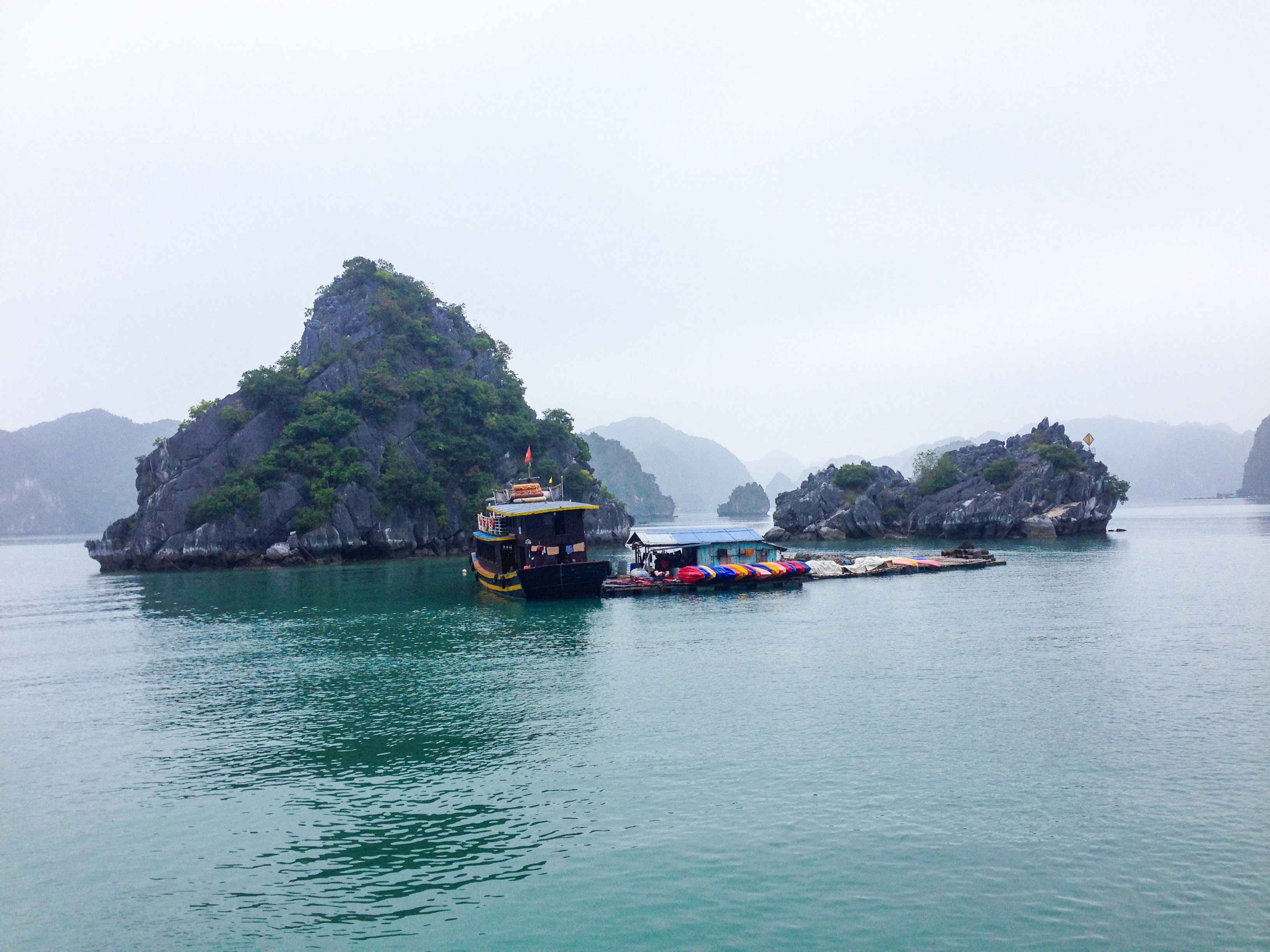 Halong Bay Cat Ba island Vietnam