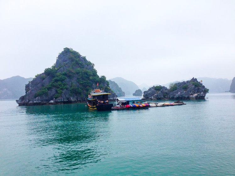 Halong Bay Cat Ba island Vietnam