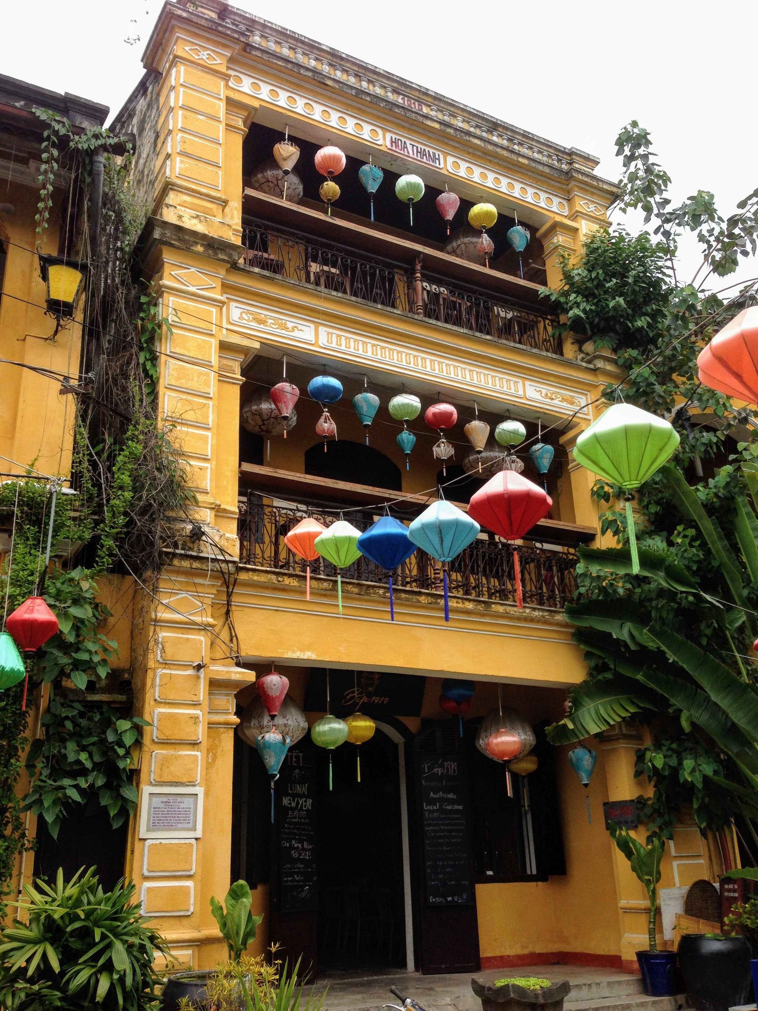 Hoi An Vietnam UNESCO World Heritage lanterns
