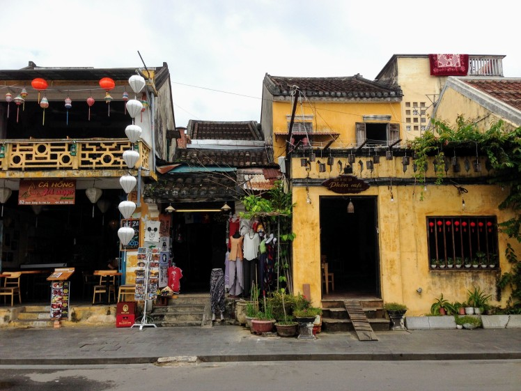 Hoi An Vietnam Old Town historic colonial building