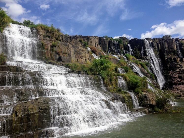 Pongour waterfall Dalat Da Lat Vietnam Asia