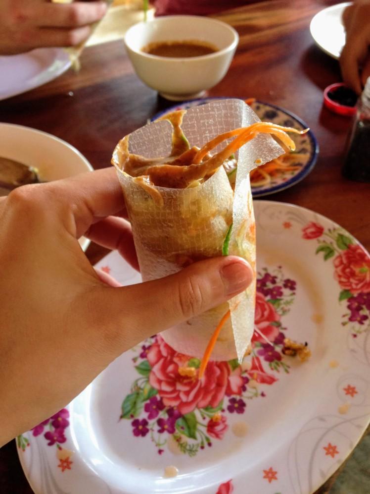 Vietnam Phong Na Food Bahn Xeo