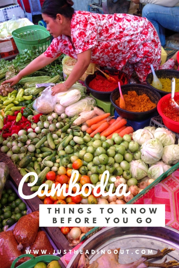 Cambodia market food travel guide travel tips Asia