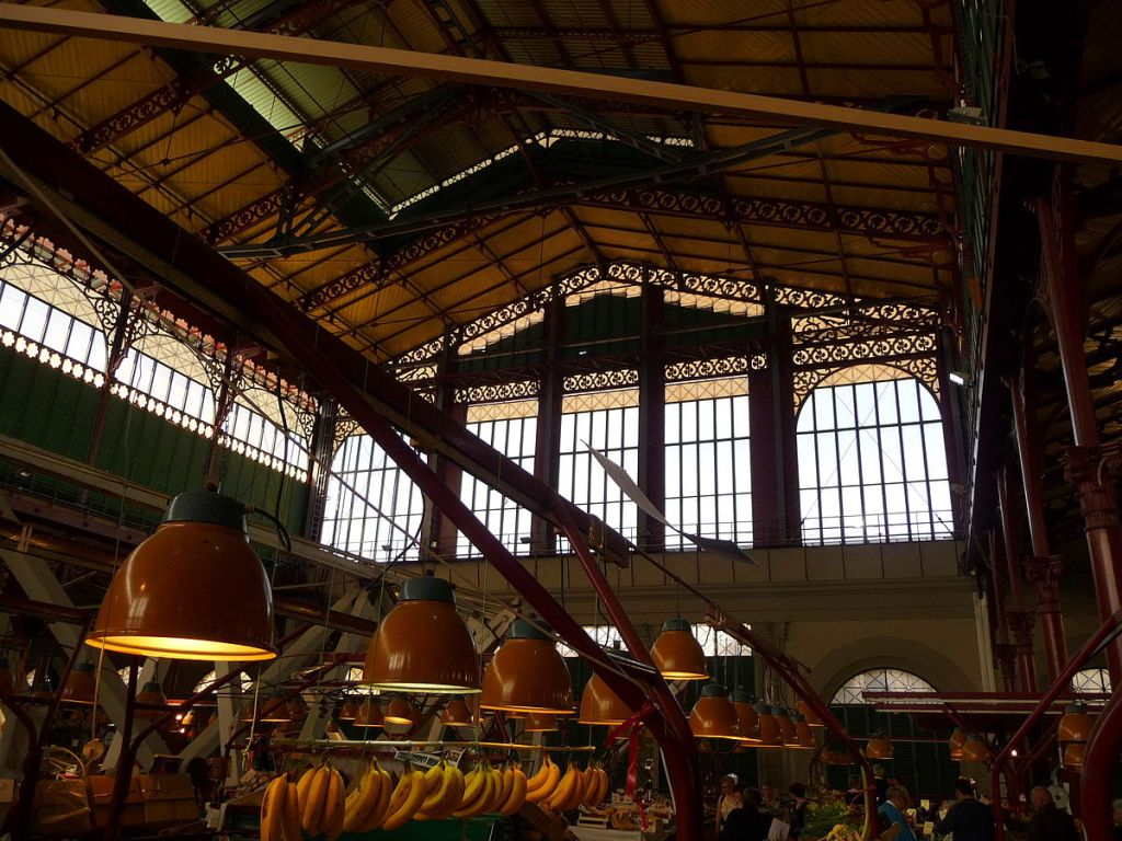 Mercato Centrale Mercato San Lorenzo Florence Italy Firenze market food travel guide city guide