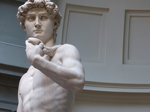 Davide David Michelangelo Florence Firenze Italy Gelleria Academia museum city guide travel guide