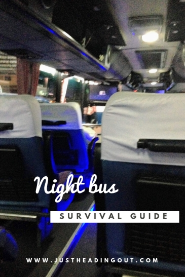 backpacking travel guide night bus travel survival guide packing list