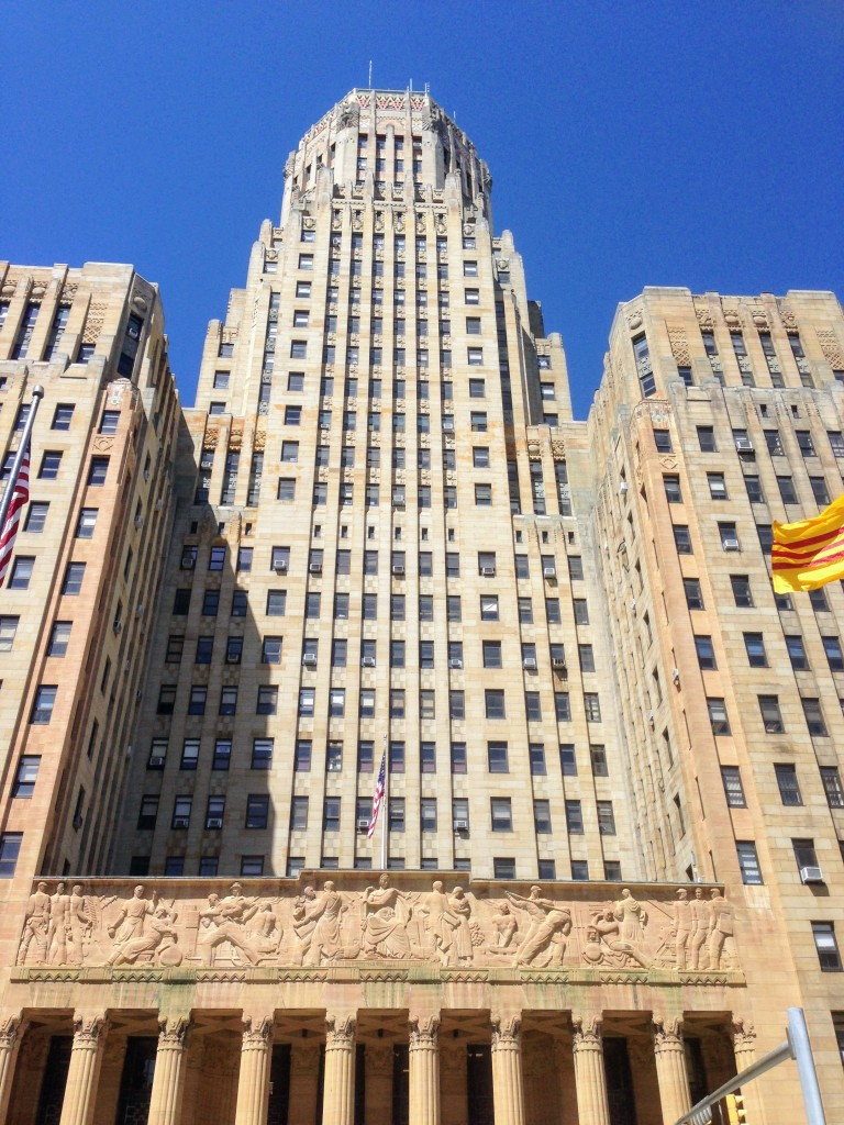 Buffalo City Hall Art Deco New York United States USA travel guide