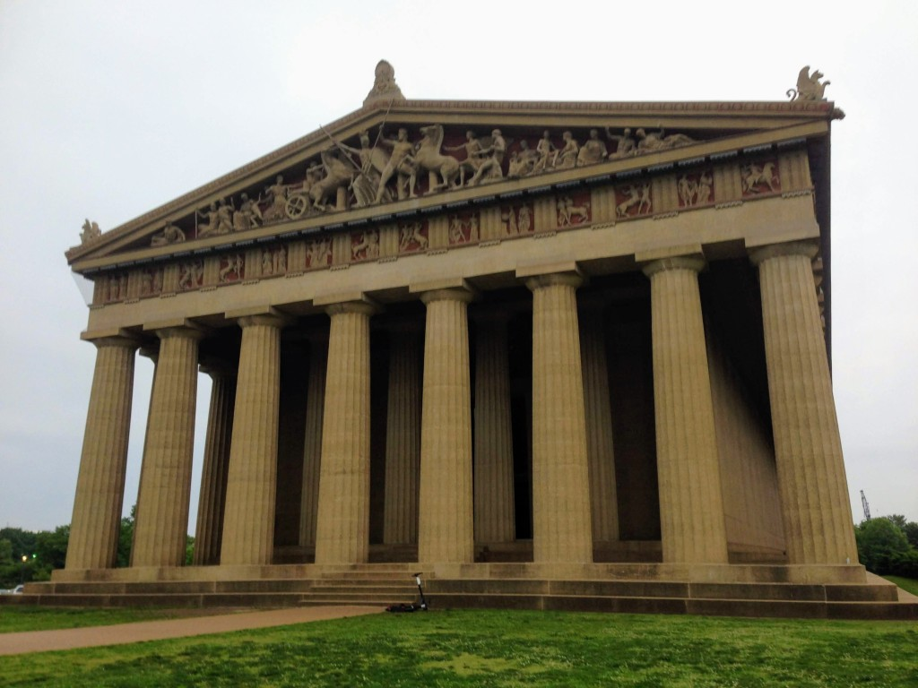 Parthenon Centennial Park Nashville Tennessee USA