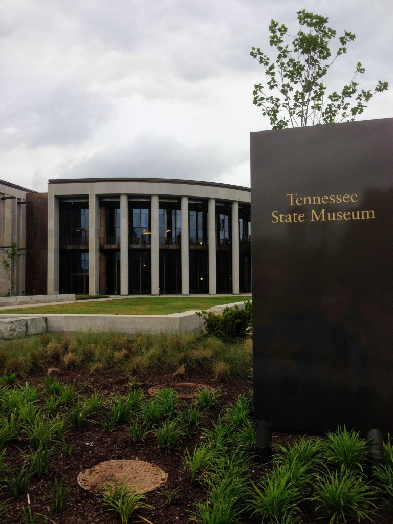 Tennessee State Museum Nashville USA history city guide things to do