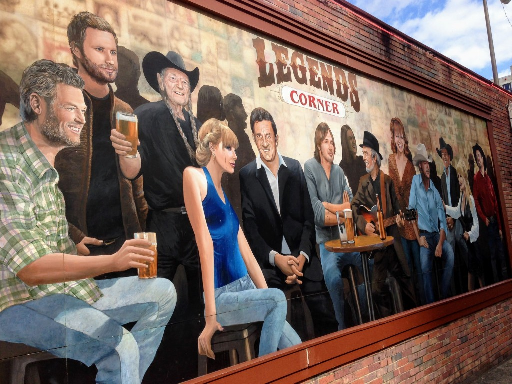 Legends Bar Broadway Nashville Tennessee USA country music