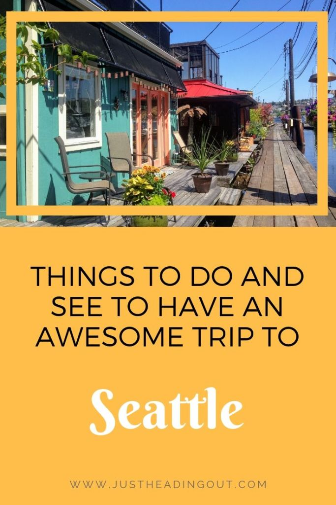 Seattle Washington USA travel tips travel guide city guide things to do itinerary lake union