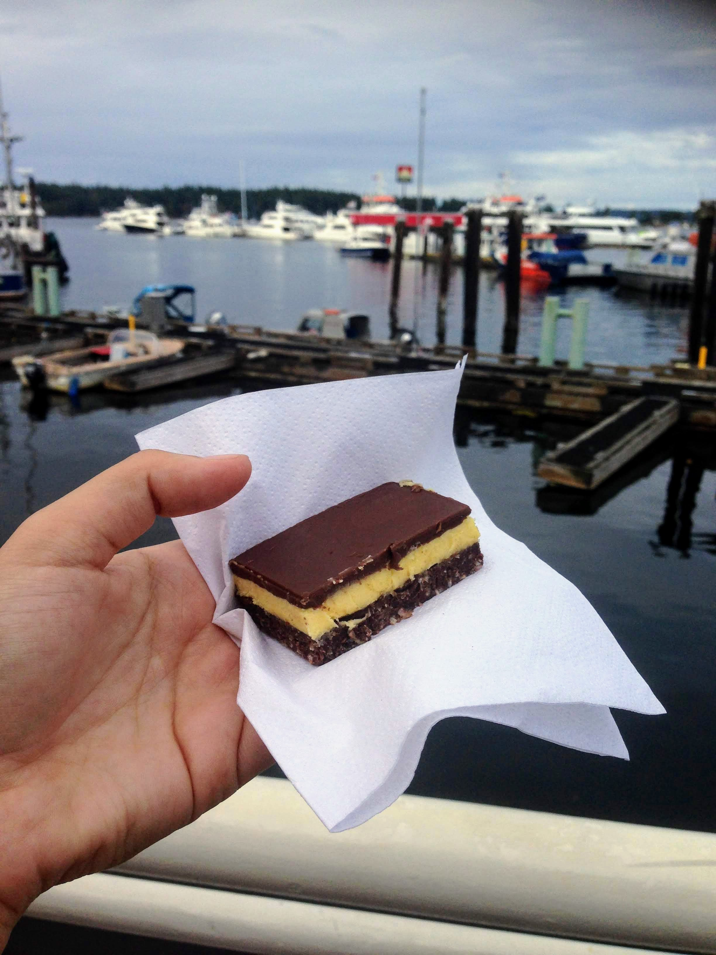 Canada Vancouver Island Nanaimo food tips cuisine travel tips food guide travel blog nanaimo bars