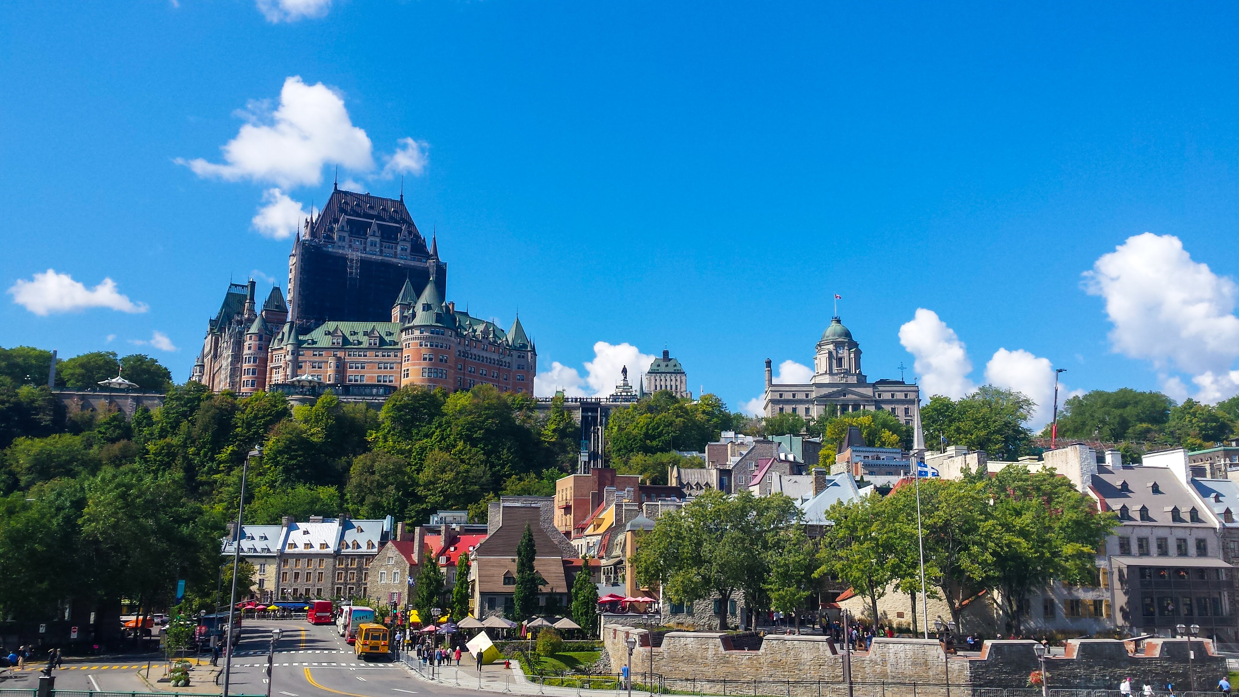 Canada Quebec City travel guide travel tips city guide things to do itinerary sightseeing highlights viewpoint ferry Levis port