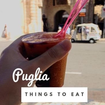 Puglia Italy Bari food tips food blog travel blog travel guide travel tips food guide Italian food traditional dishes things to eat