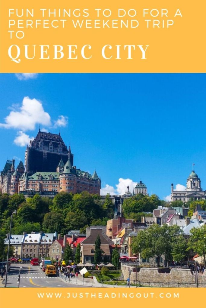 Canada Quebec City travel guide travel tips city guide things to do itinerary sightseeing highlights