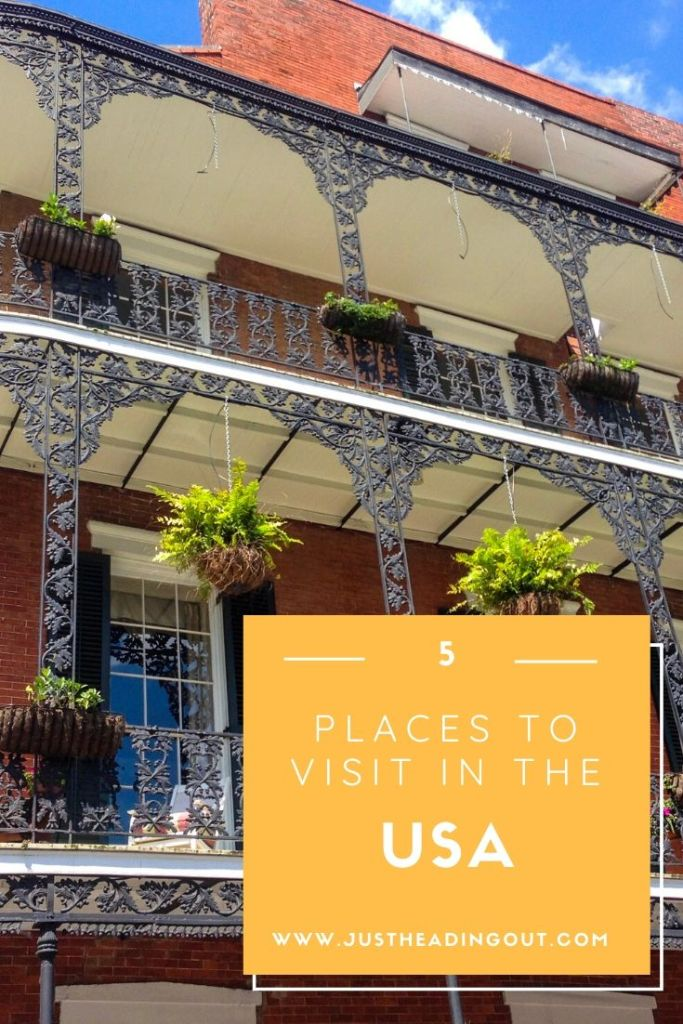 USA cities travel guide North America places to visit top destinations city guide travel tips New Orleans