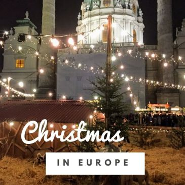 christmas market Europe festive destination travel guide holidays December travel Vienna Austria