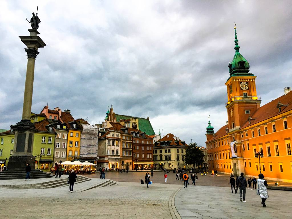 Warsaw Old Town Poland Royal Castle travel guide city guide Warsaw travel tips things to do sights highlights