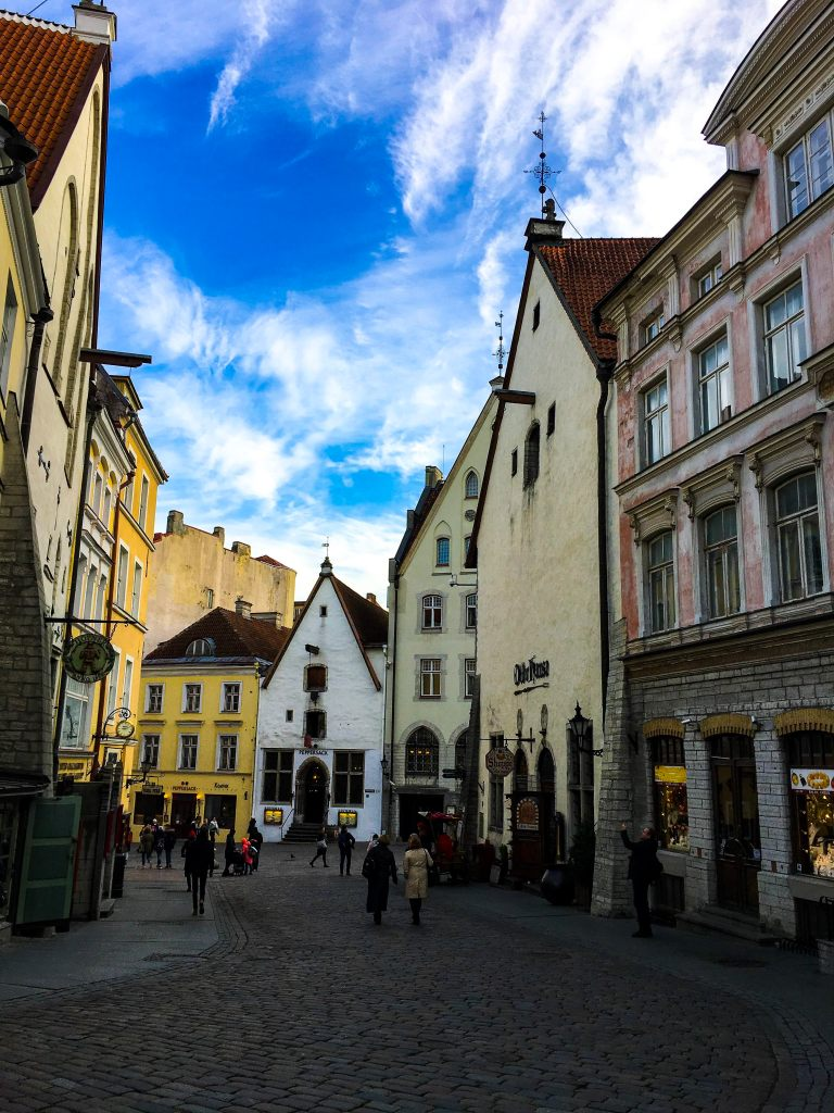 Tallinn Estonia Old Town medieval city architecture city guide travel guide travel tips