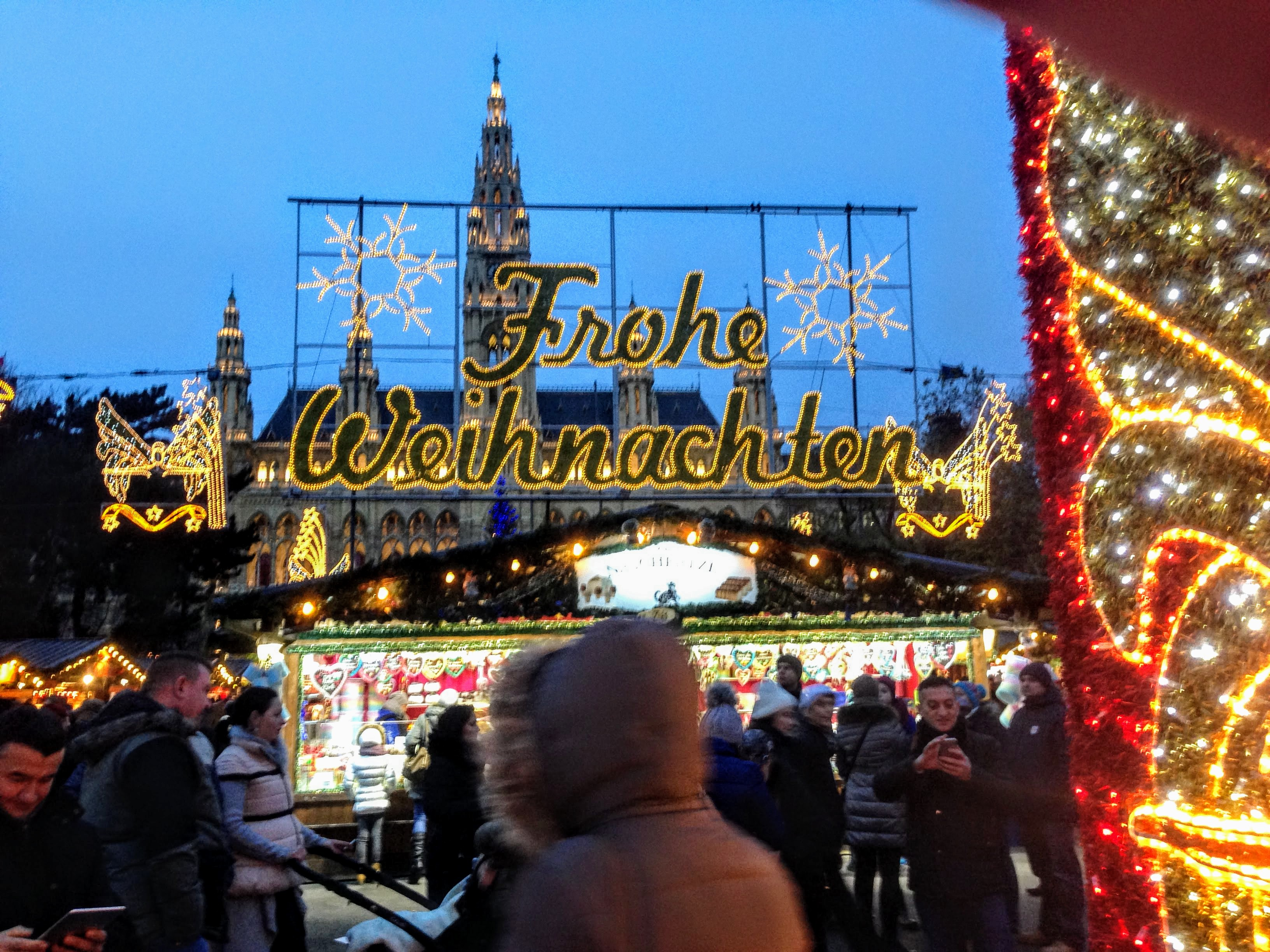 christmas market Europe festive destination travel guide holidays December travel Christkindl Vienna Austria
