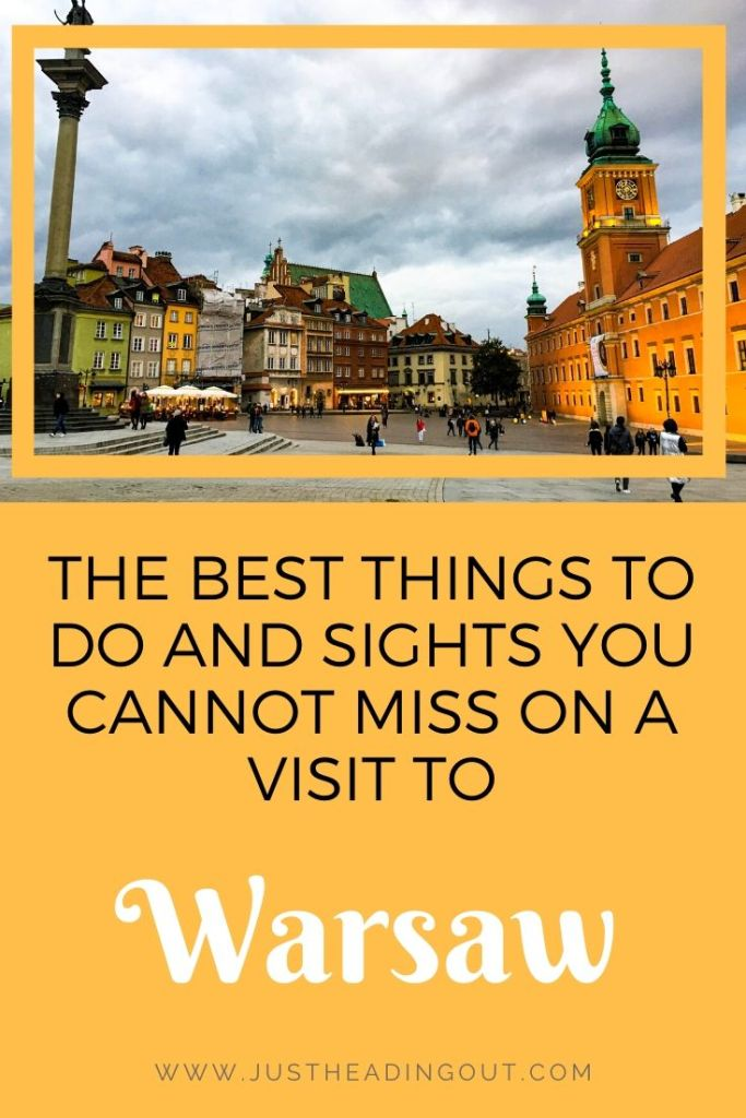 Warsaw Poland travel guide city guide Warsaw travel tips things to do sights highlights food guide Old Town