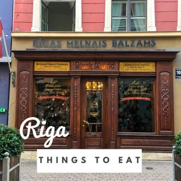 Riga Latvia things to eat food guide Latvian cuisine dishes travel guide