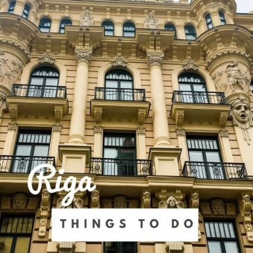 Riga Latvia city guide travel guide things to do itinerary highlights main sights museums architecture Art Nouveau