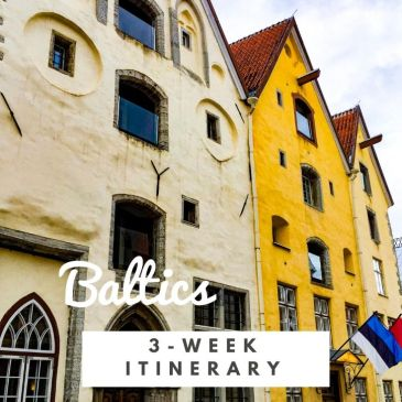 Baltics Europe travel guide itinerary three weeks around the Baltic Sea Poland Lithuania Latvia Estonia Finland Sweden Copenhagen travel tips