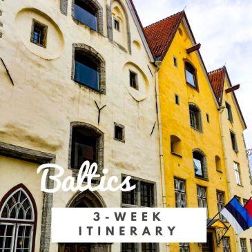Baltics Europe travel guide itinerary three weeks around the Baltic Sea Poland Lithuania Latvia Estonia Finland Sweden Copenhagen travel tips