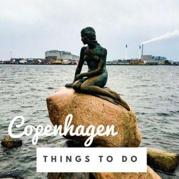 Denmark Copenhagen city guide travel guide Little Mermaid Anderson fairy tales