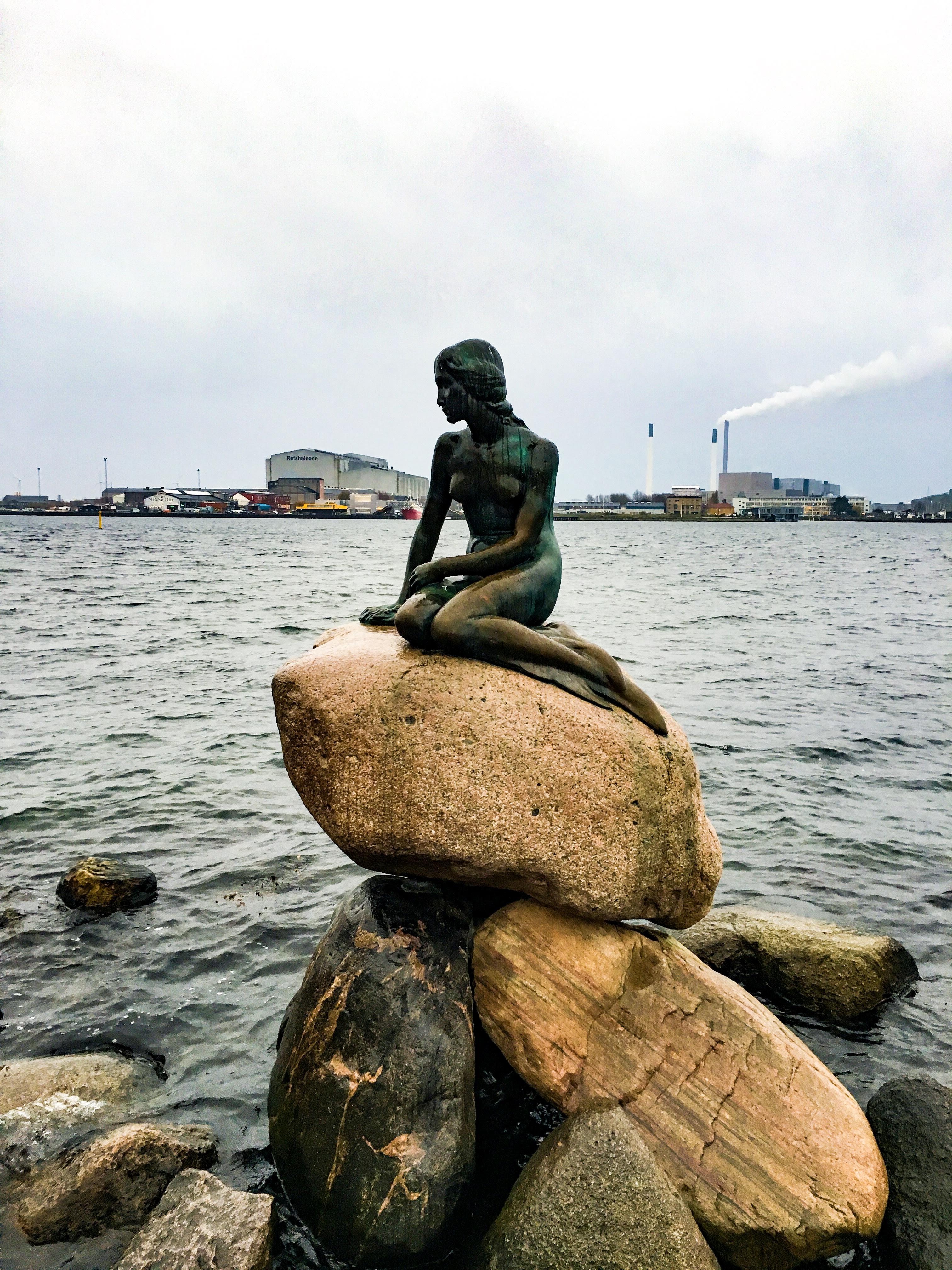 Denmark Copenhagen Little Mermaid Hans Christian Andersen Old Town city guide travel guide