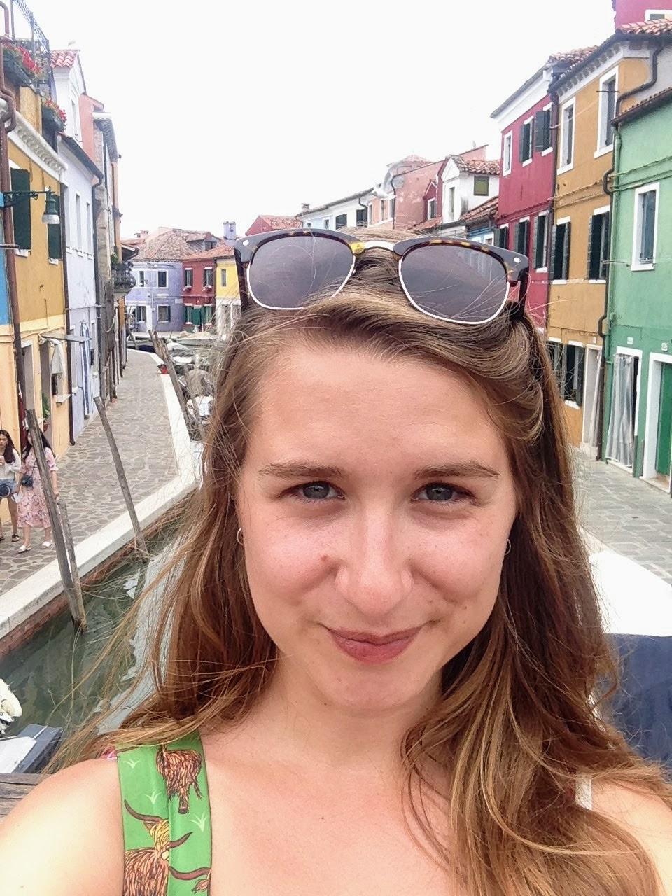 Italy Venice Burano solo travel