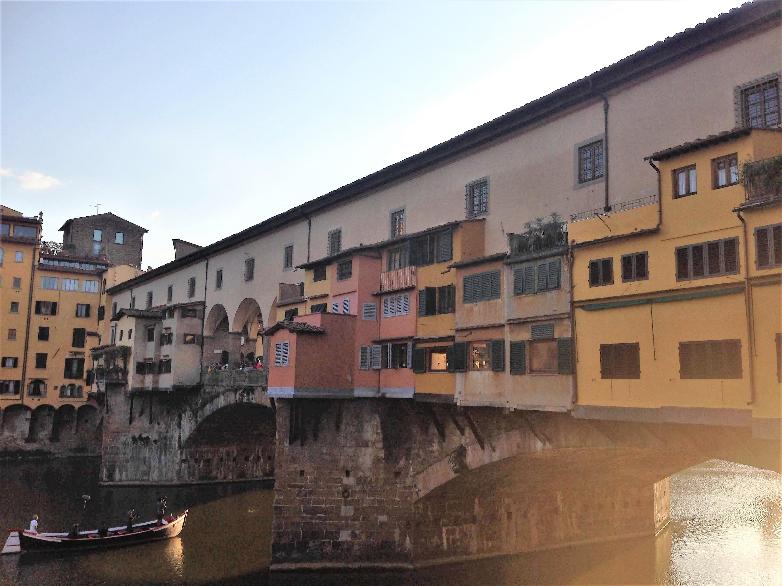 Florence Italy ponte vecchio solo female travel
