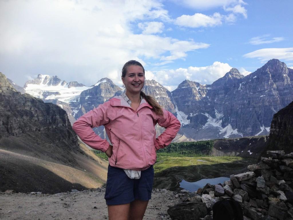 Canada Rockies Lake Louise hiking solo travel
