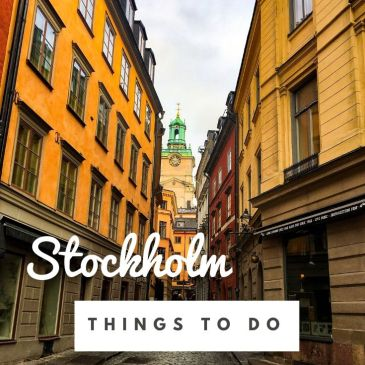 Sweden Stockholm Old Town city guide travel guide travel tips things to do must see highlights sightseeing Gamla Stan