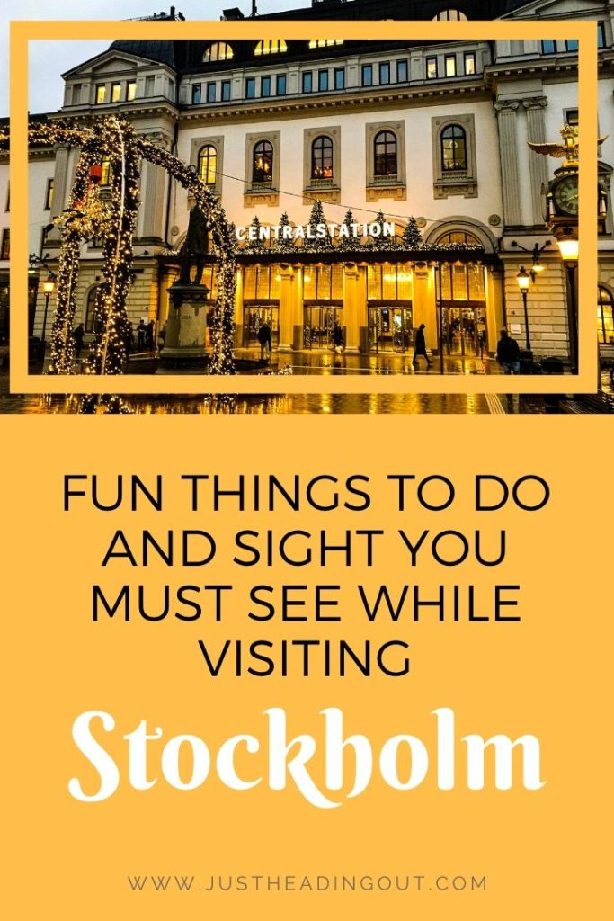 Sweden Stockholm Old Town city guide travel guide travel tips things to do must see highlights sightseeing Central Station