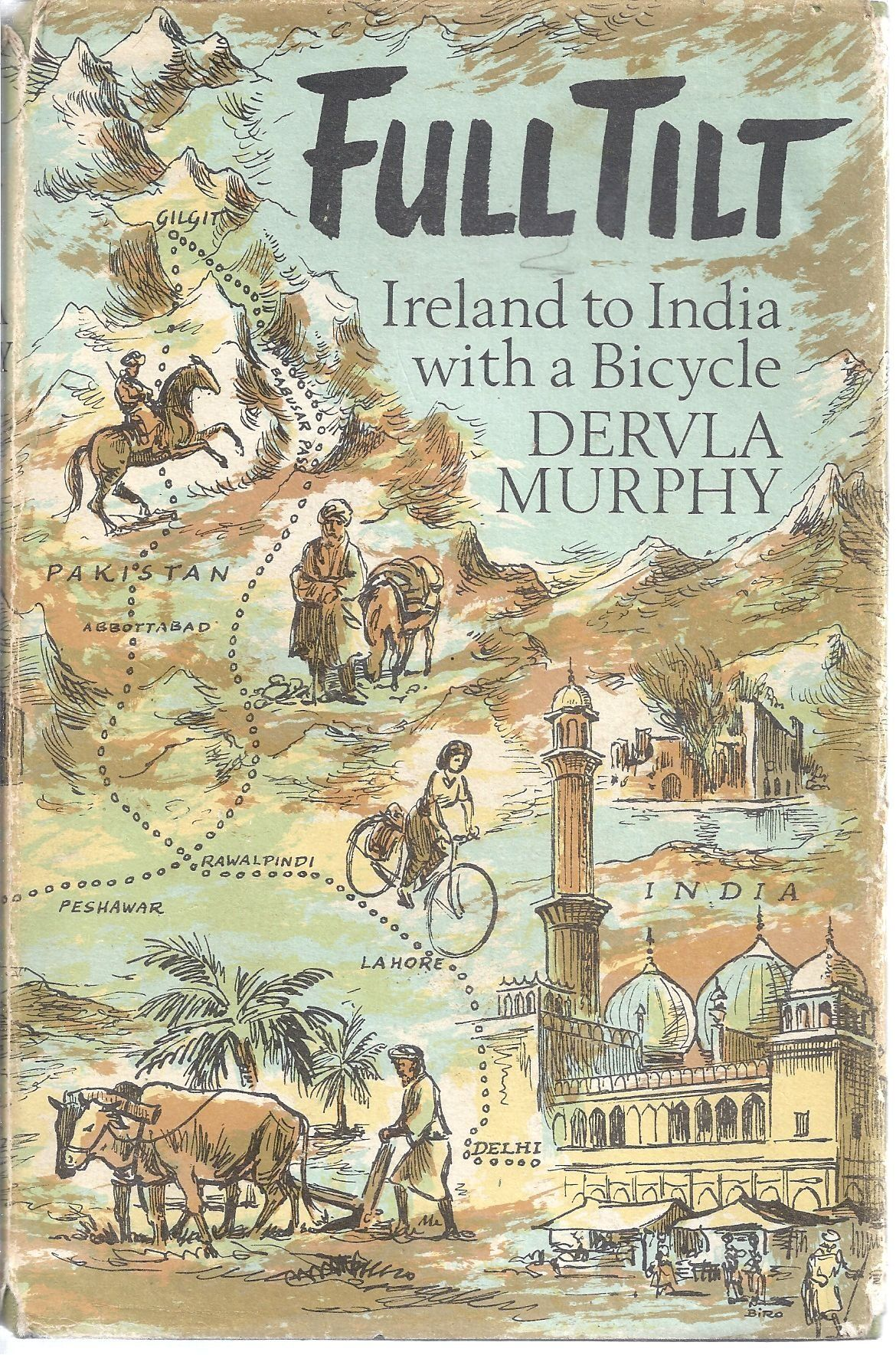 full tilt dervla murphy travel book guide wanderlust solo female travel book tips reading list