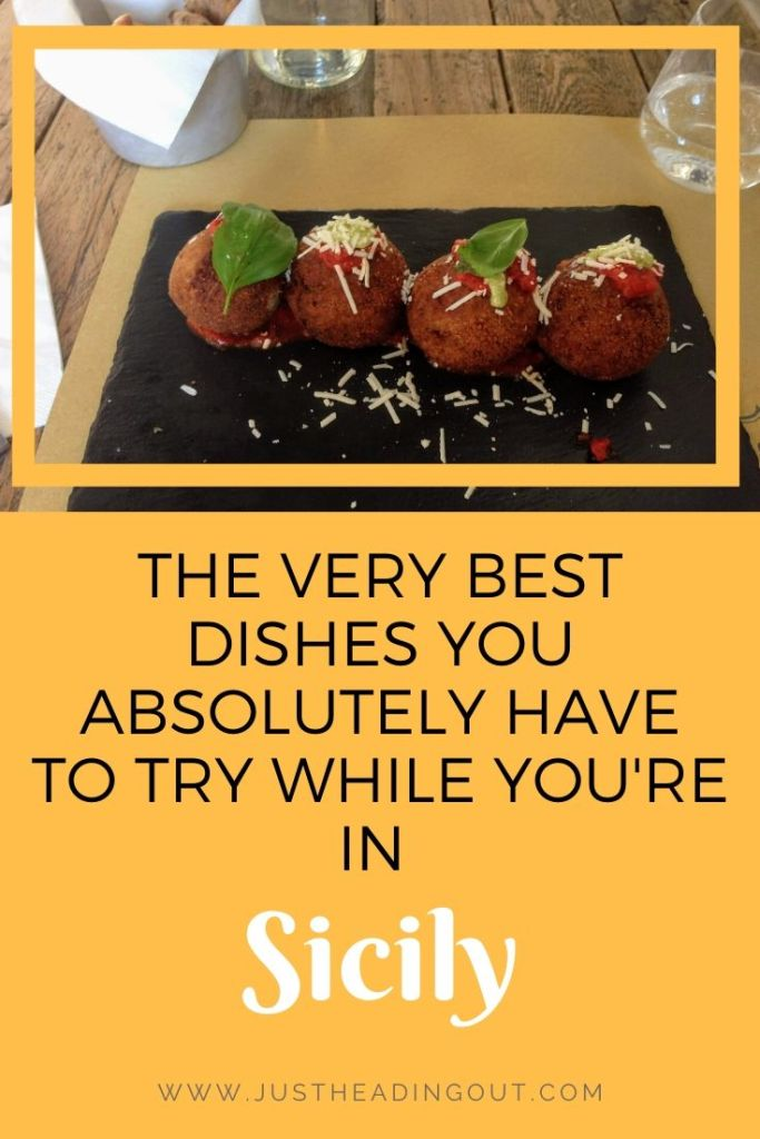 Sicily food guide Italian food Italy travel tips food tips things to eat polpette catania