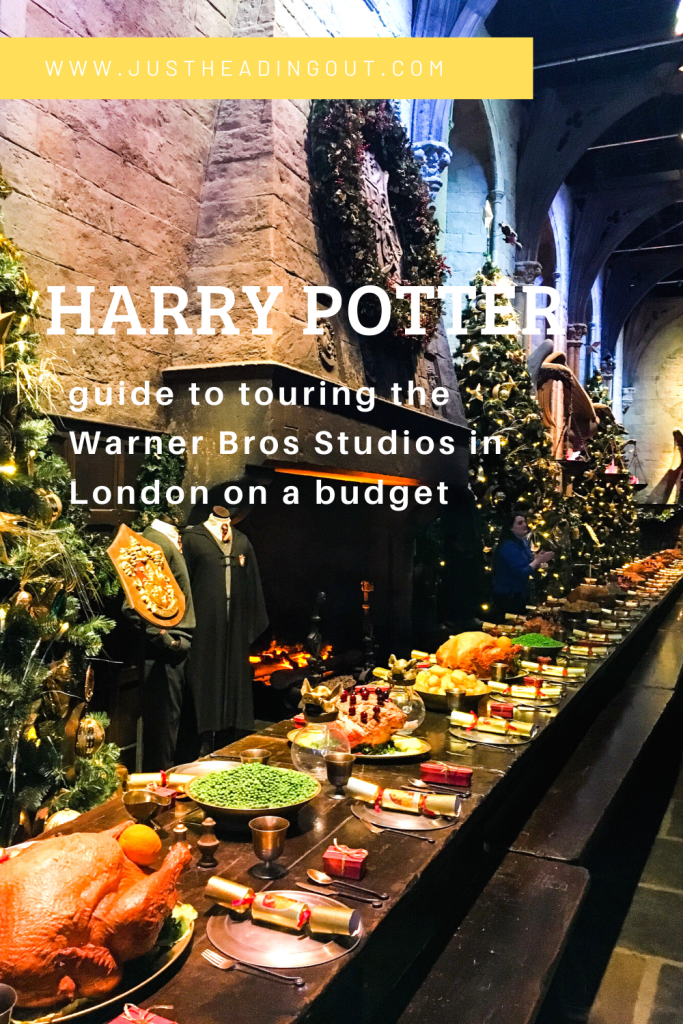 Harry Potter Studio Tour on a budget Warner Bros London budget travel travel tips