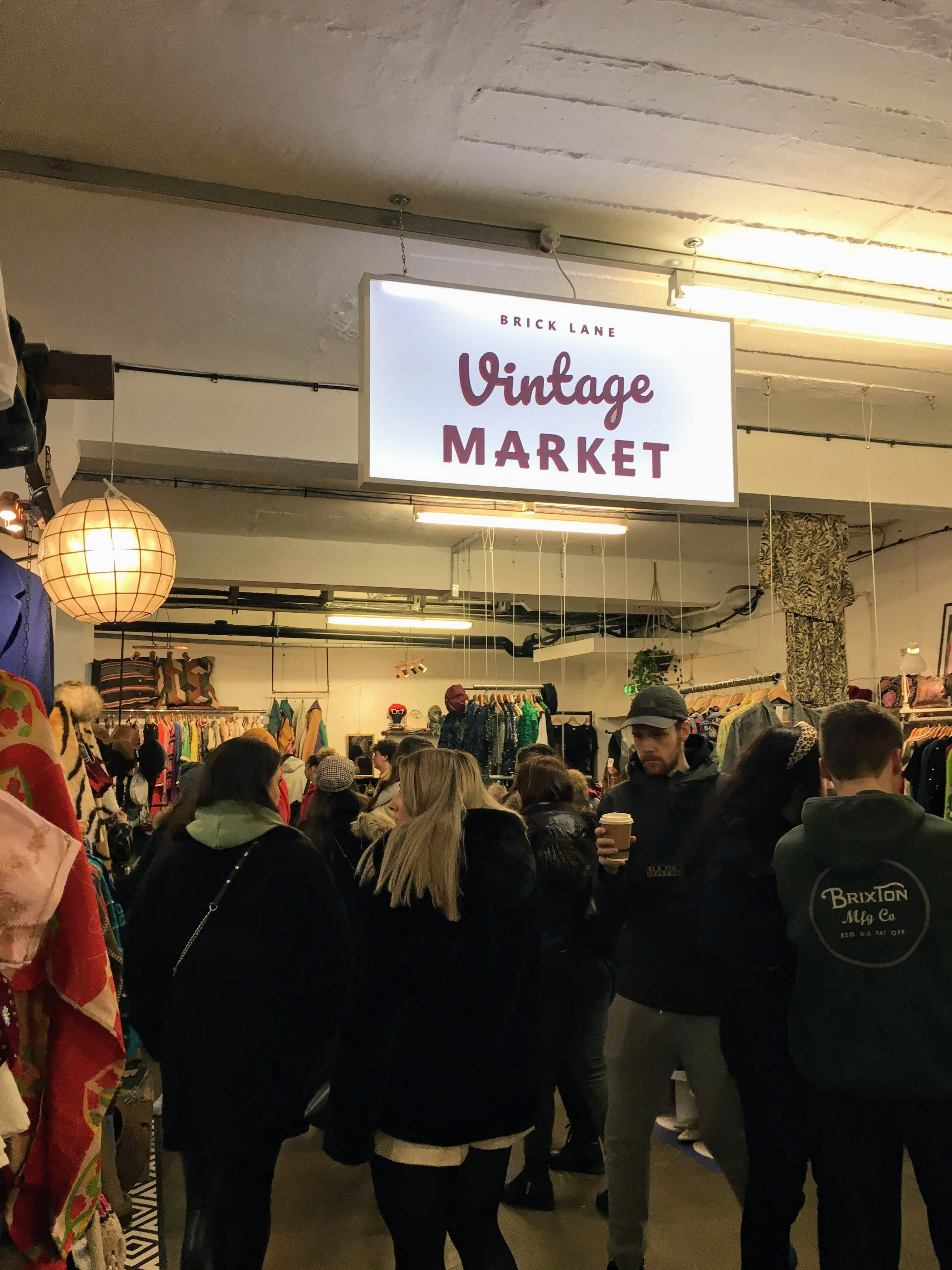 Brick Lane Vintage Market london england city guide