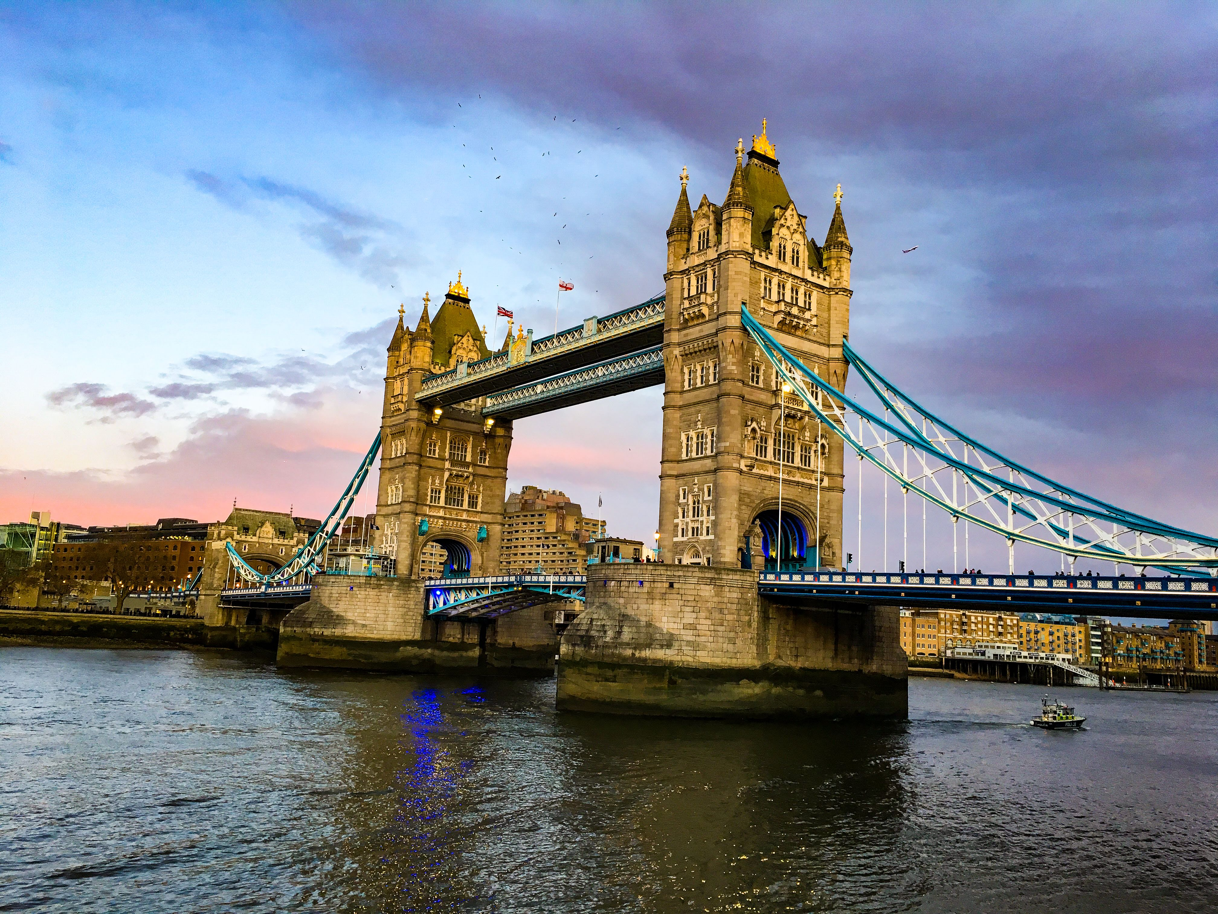 Tower Bridge london england city guide thames