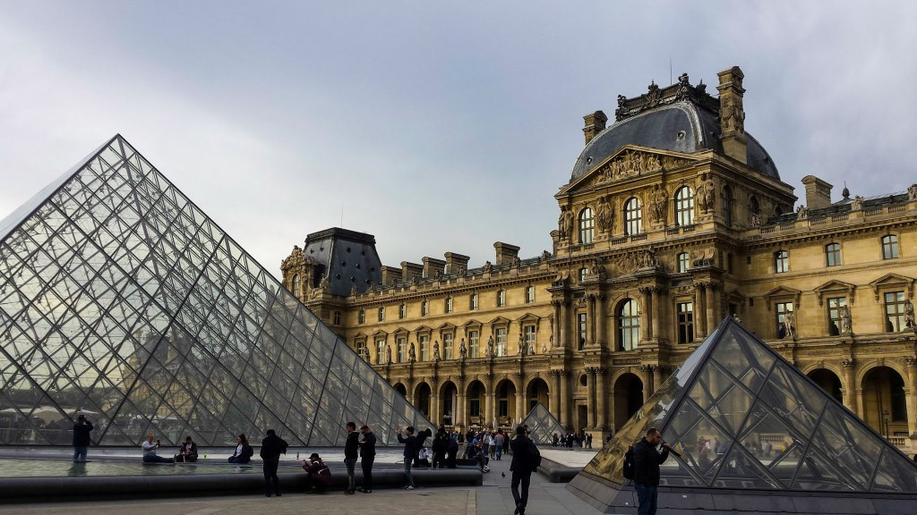 Louvre Museum things to do in Paris France itinerary virtual tour