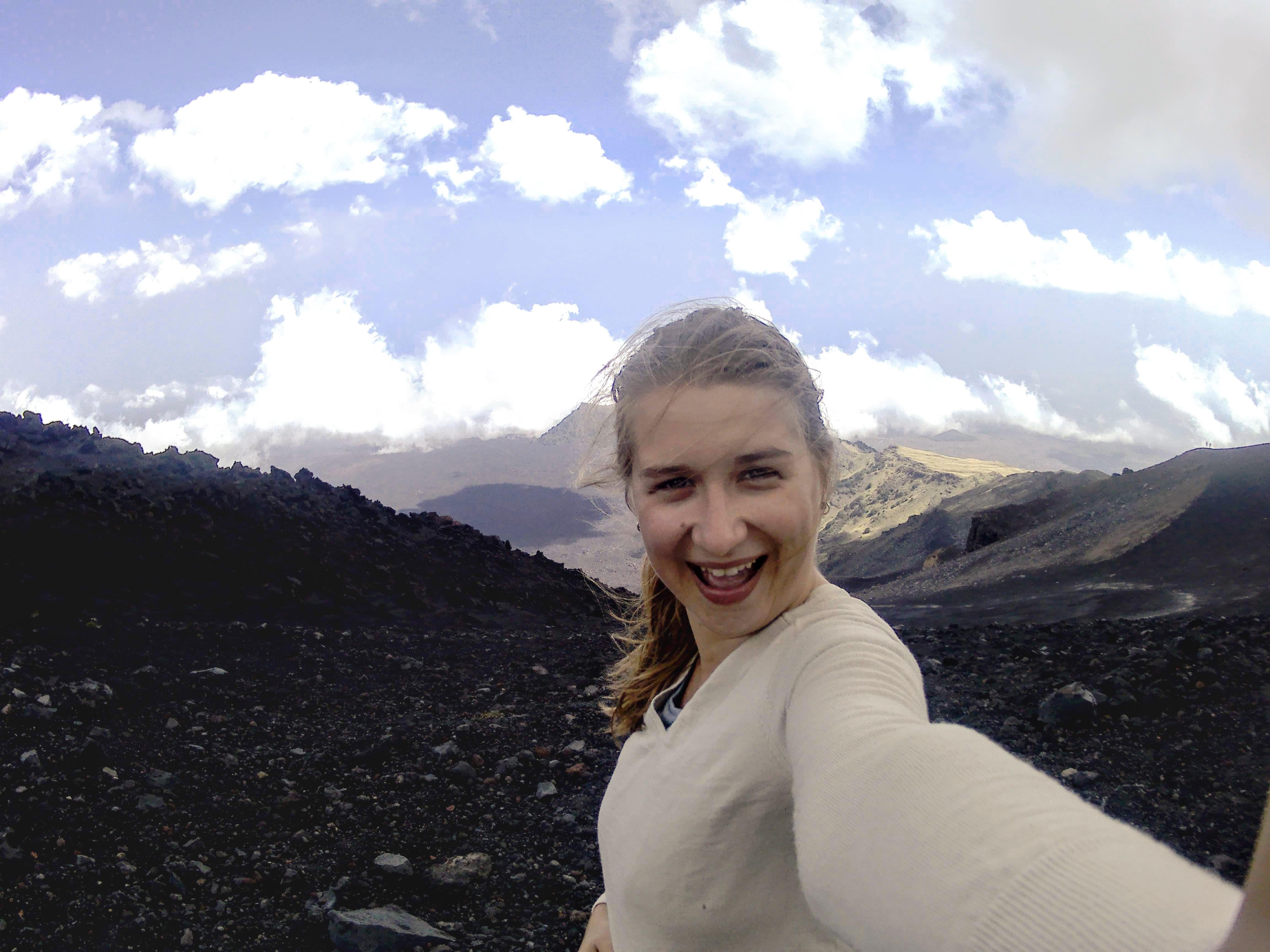 Etna selfie Sicily