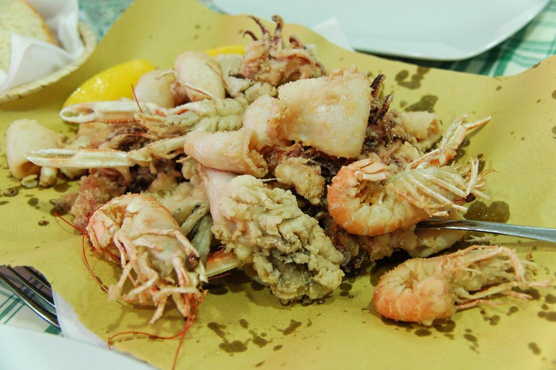 Venice fritto misto di pesce Veneto food guide Italian cuisine