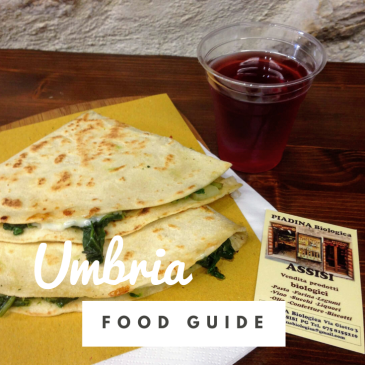 Umbria food guide Italy regional cuisine travel tips