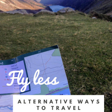 alternative travel sustainable travel tips guide fly less