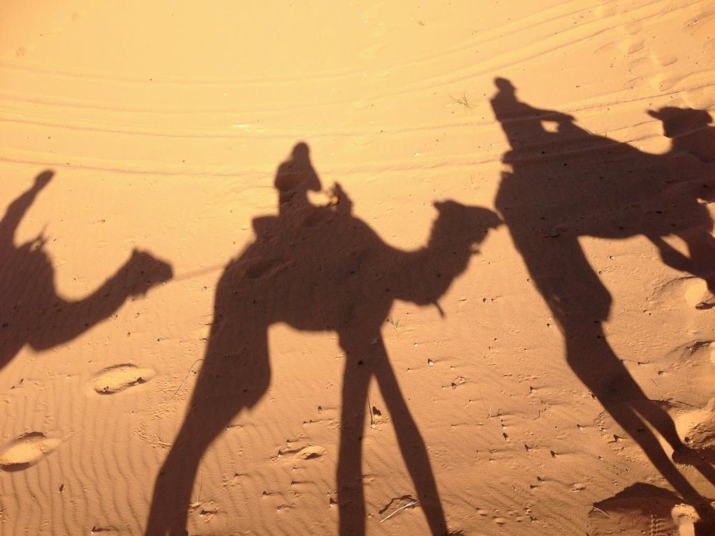 camel ride Morocco Sahara dessert